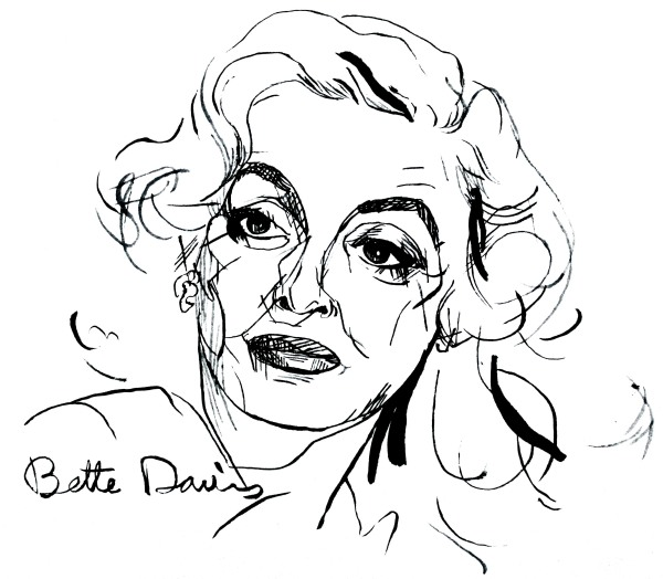 I'm Bette Davis and, yes, I am just too much.