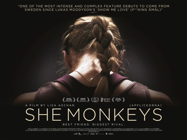 She Monkeys UK Quad Poster