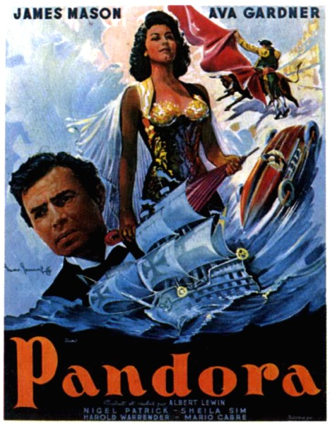 affiche-Pandora-Pandora-and-the-Flying-Dutchman-1951-2