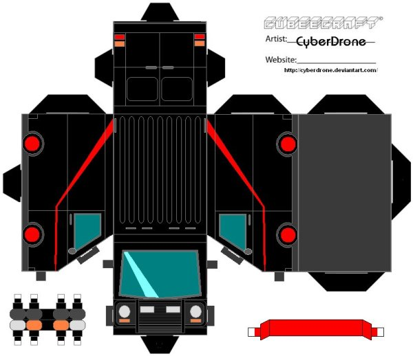 Cubee___The_A_Team_Van_by_CyberDrone