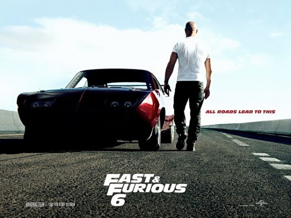 Fast and Furious 6 movie poster