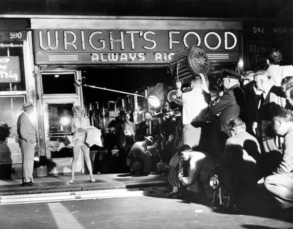 Marilyn Monroe Filming