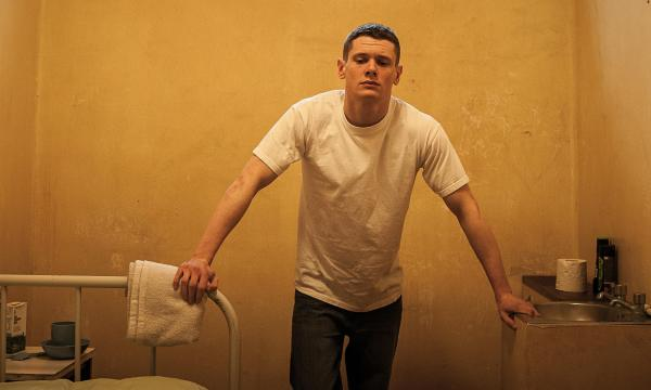 'A hint of the young Malcolm McDowell': Jack O'Connell as Eric in Starred Up.
