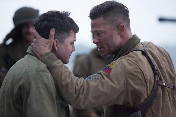 Brad Pitt;Logan Lerman