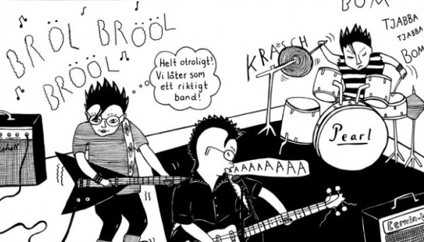 From Coco Moodyssoon's orginal graphic novel, Never Goodnight (2008)